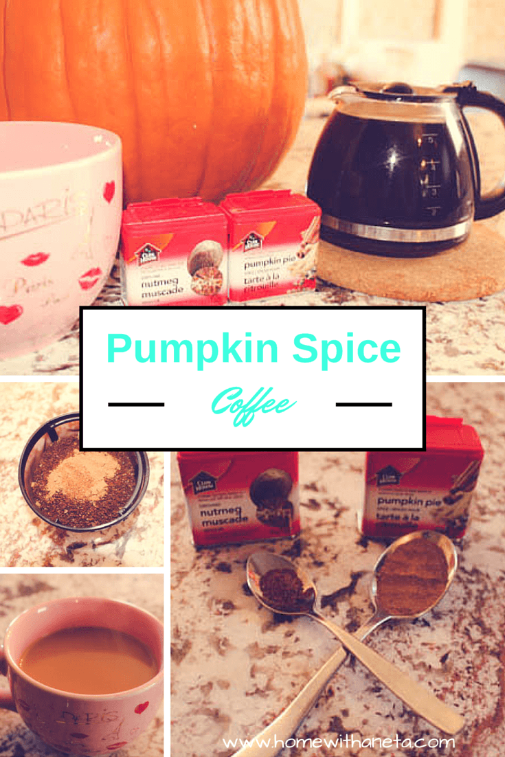 #DIY Pumpkin Spice Coffee