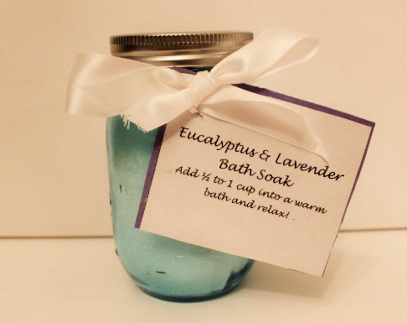 DIY Eucalyptus & Lavender Bath Soak