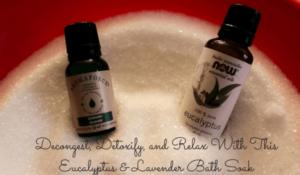 Eucalyptus & Lavender bath soak