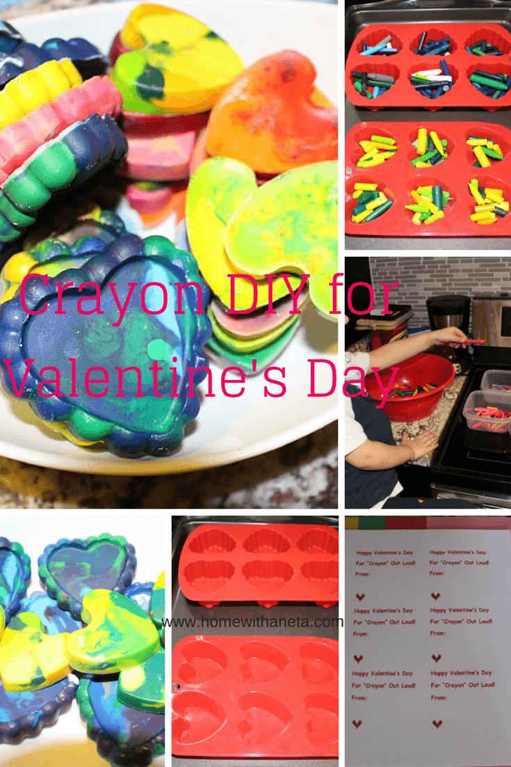 Valentines Day Crayon DIY