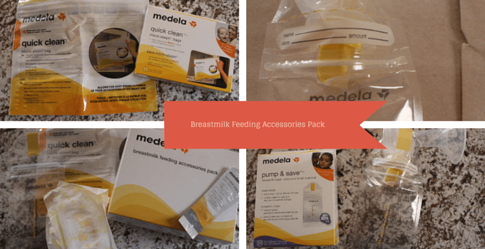 Medela Breastmilk Feeding accessories pack