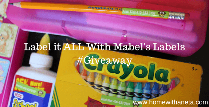 Label it ALL With Mabel's Labels
