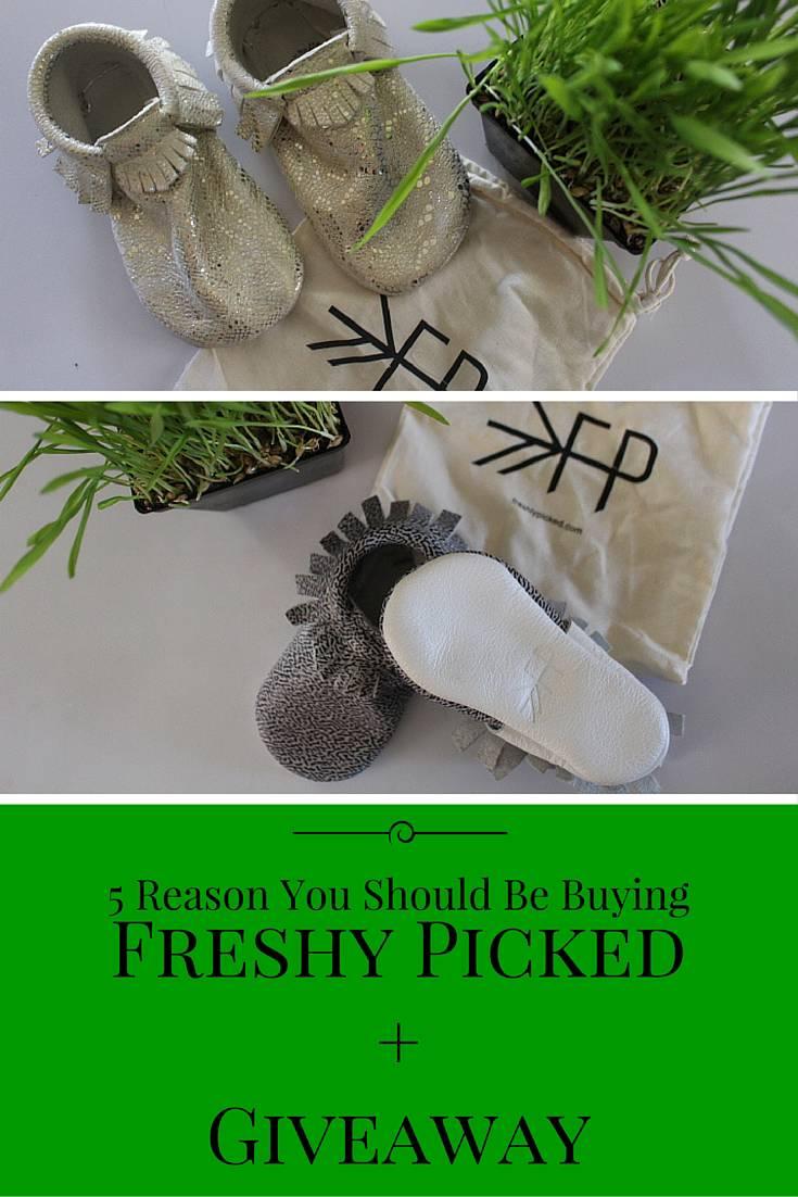 freshly picked moccs