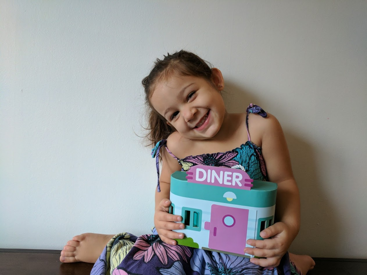 Compact Joy With Sago Mini Jack's Diner Play Set