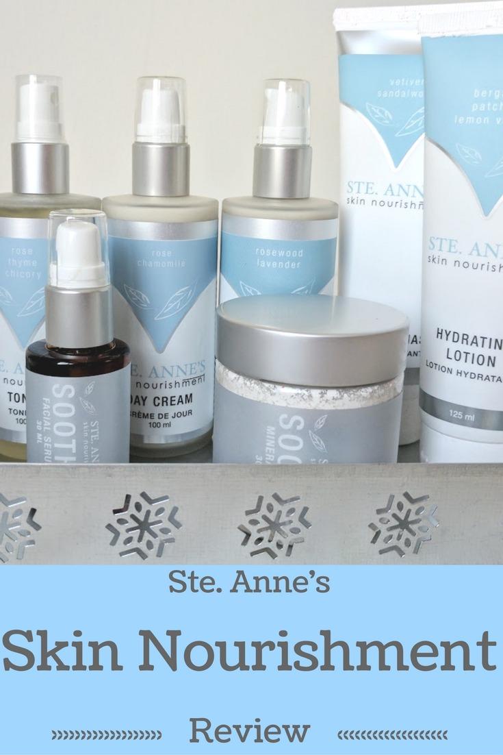 ste. anne's skin nourishment