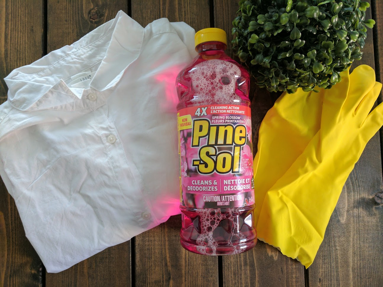 Bringing Spring In With the New Pine-Sol Spring Blossom + Free Printable