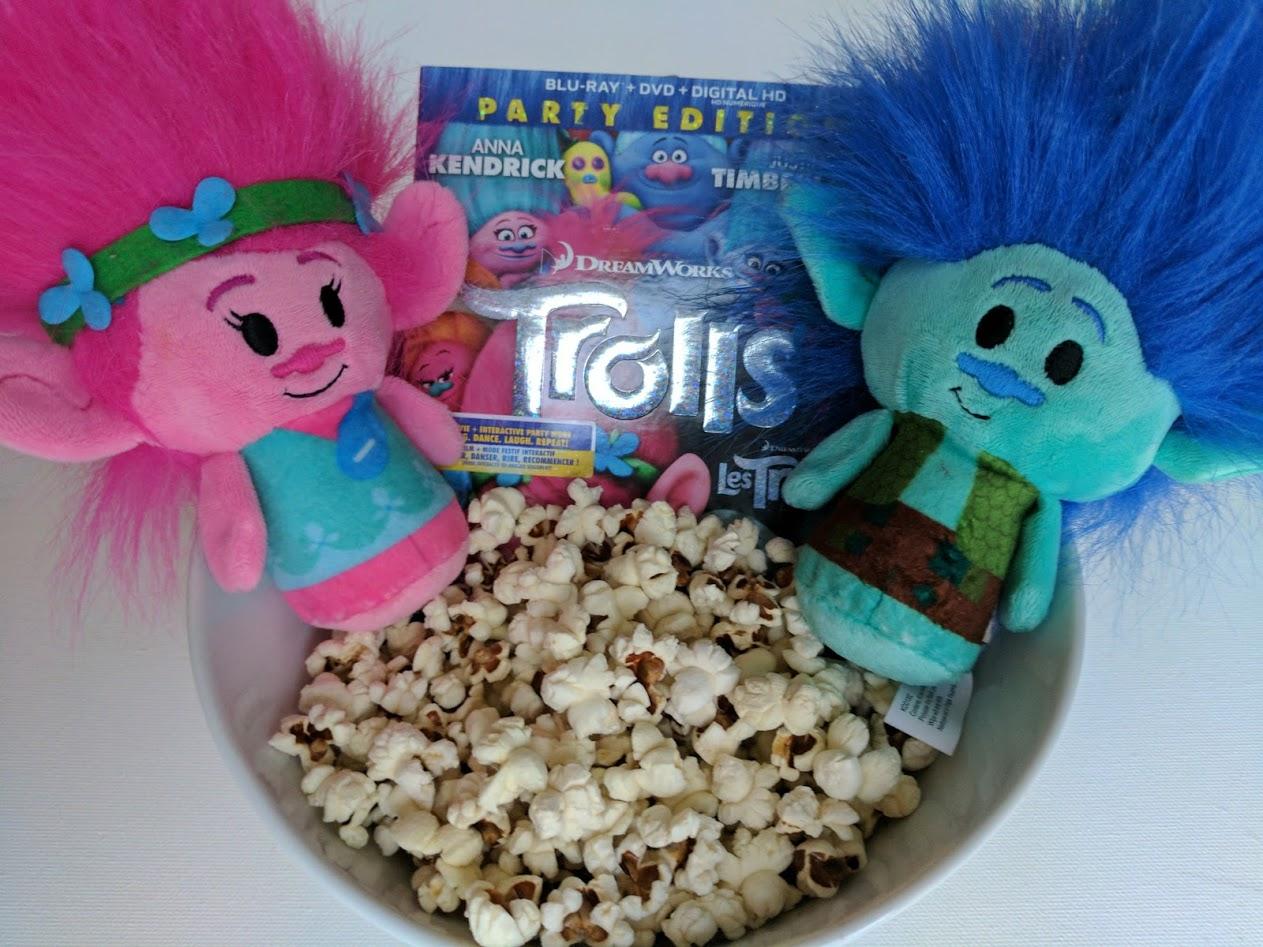 trolls family movie night