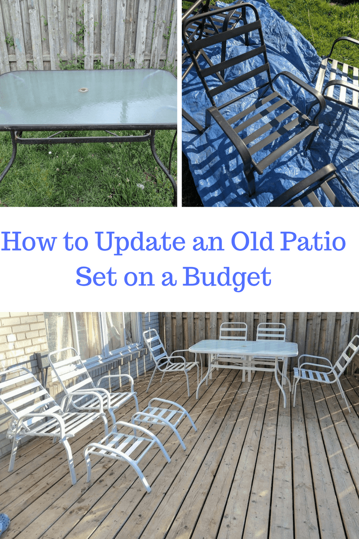 update an old patio set
