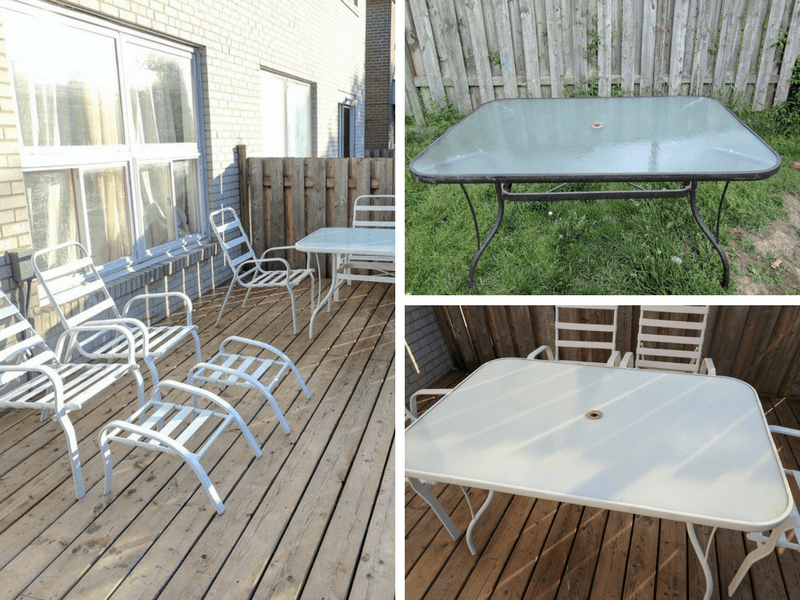 How to Update an Old Patio Set on a Budget