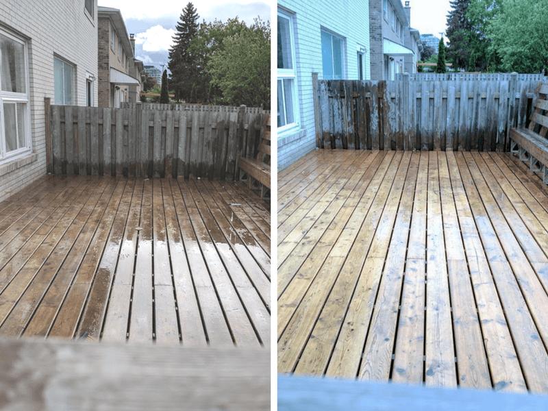 Deck Maintenance with Rustoleum Premium Deck Cleaner Pouch & Restore 12x