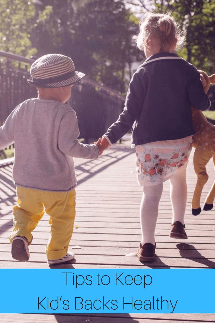 Tips to Keep Kid's Backs Healthy