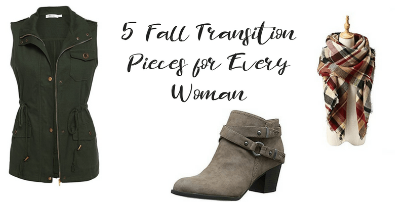 5 Fall Transition Pieces for Every Woman
