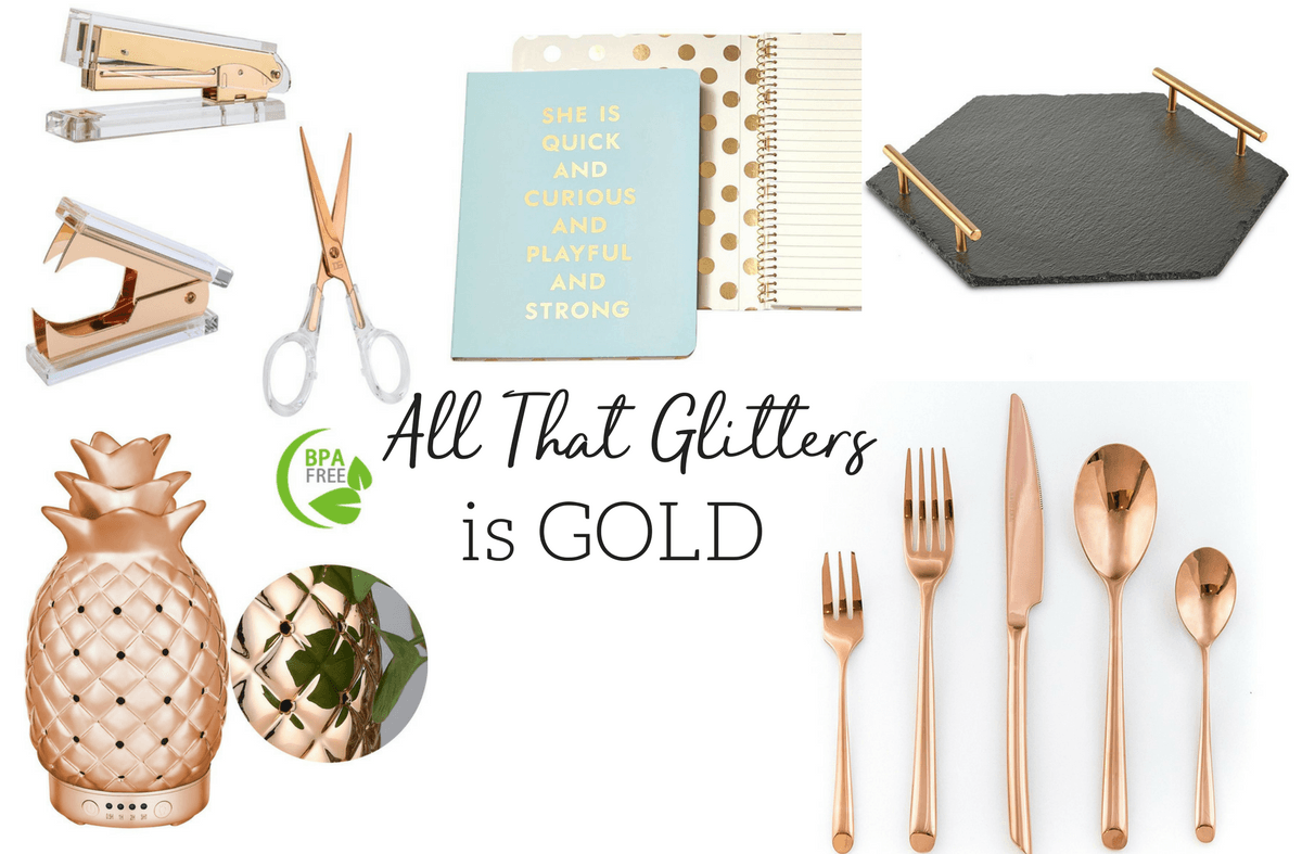 gold gift ideas