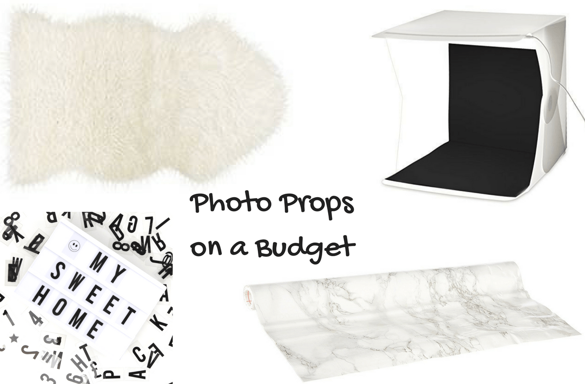 Blogging photo props