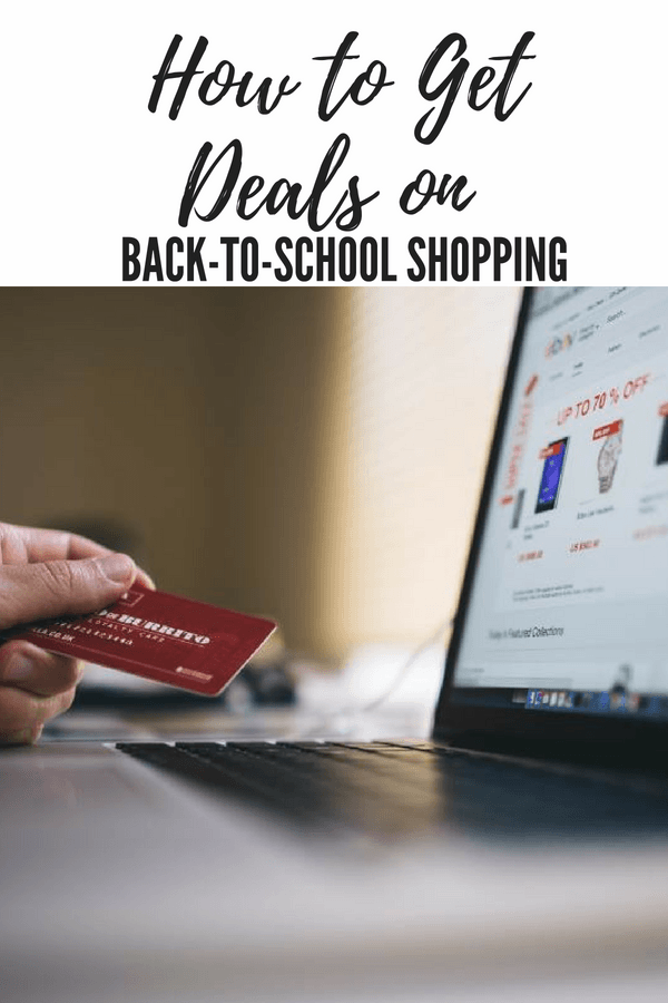 How to Get Deals on Back-to-School Shopping