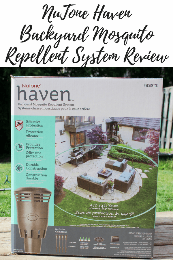 NuTone Haven BackyardMosquito Repellent System Review