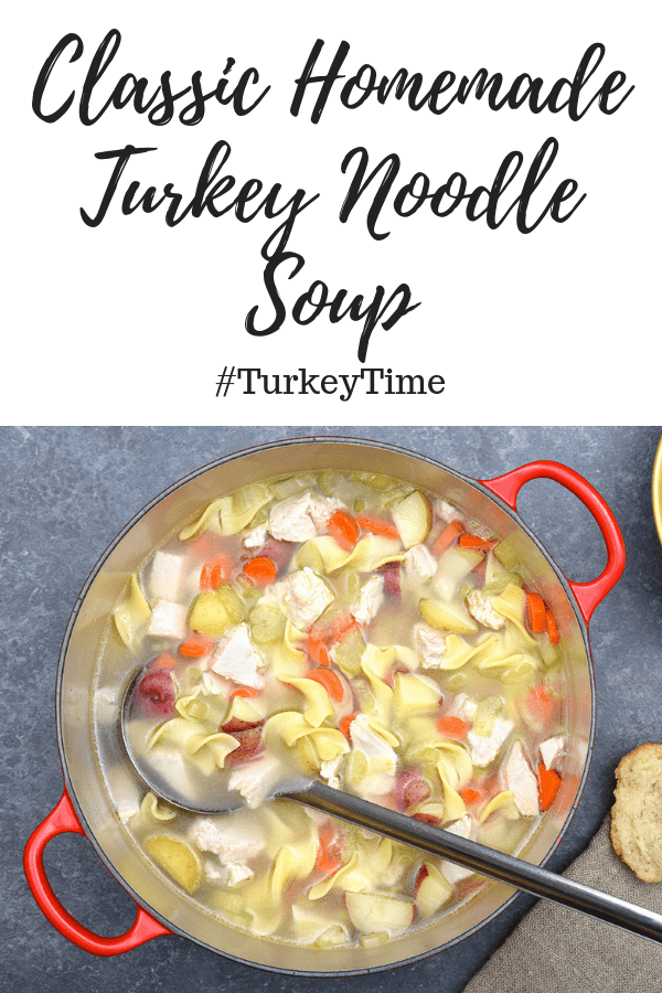 classic homemade turkey noodle soup