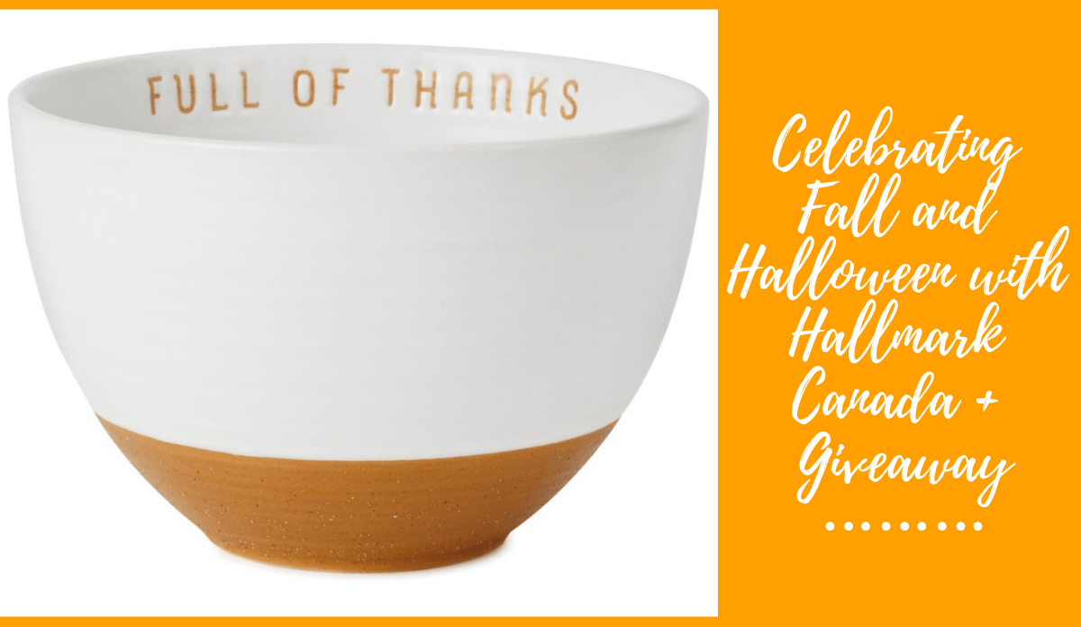 Celebrating Fall and Halloween with Hallmark Canada + Giveaway