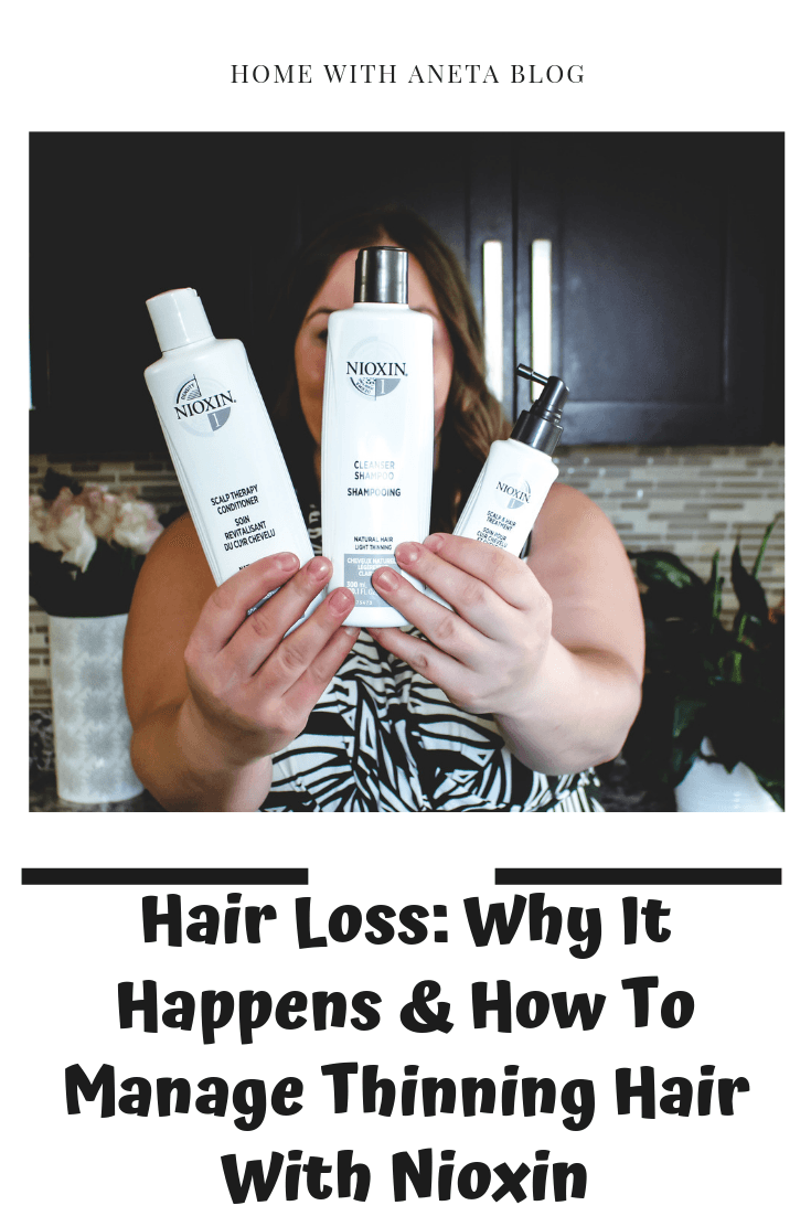 Hair Loss: Why It Happens & How To Manage Thinning Hair With Nioxin