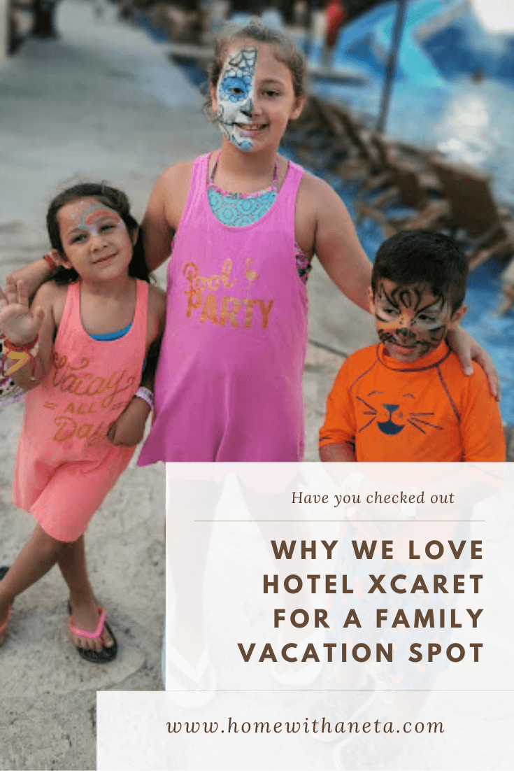 Why we love Hotel Xcaret for a family vacation spot