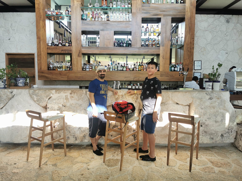 Lobby Bar at Hotel Xcaret