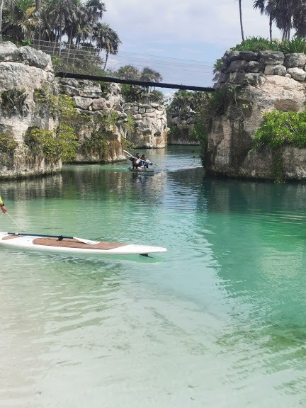 Kayaking and paddle boarding at Hotel Xcaret