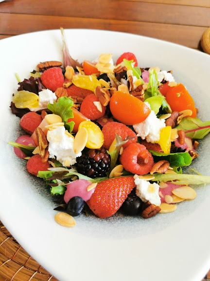 Salad at Bio restaurant